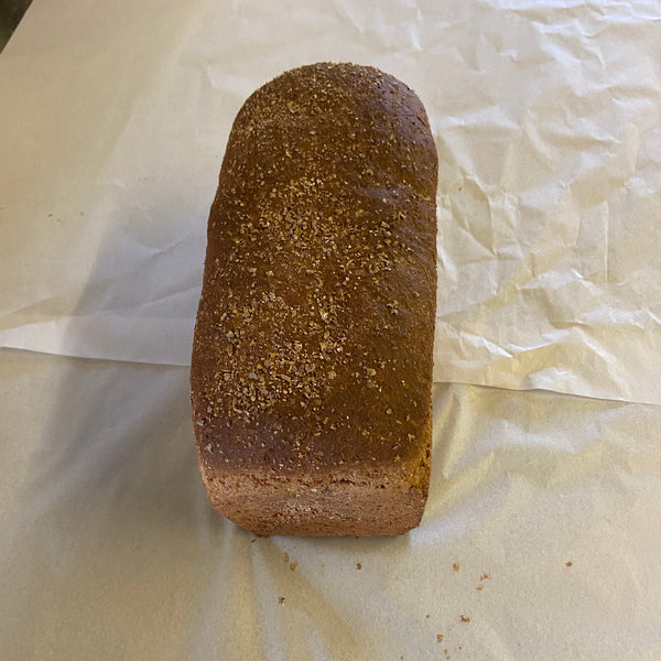 Small Wholemeal Brown Bread with Treacle