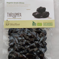 Olives Velouitinos Throumpa Organic