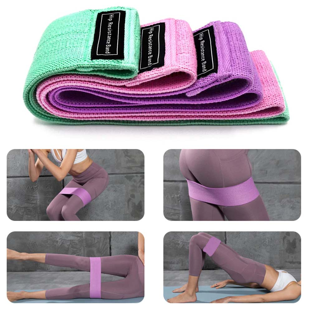 Resistance Bands Elastic Hip Trainer