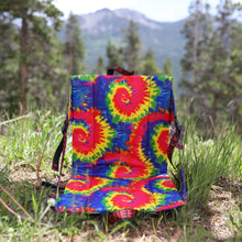 Load image into Gallery viewer, Tie-Dye/Blue Crazy Creek