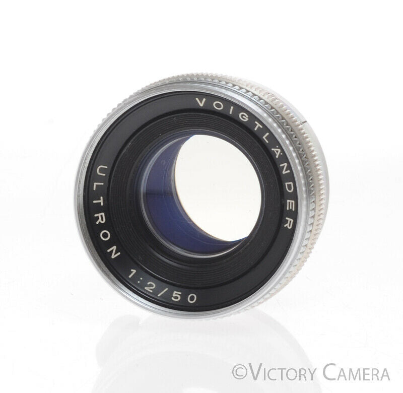 Voigtlander Ultron 50mm f2.0 Lens for Prominent Camera