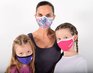 Customized Face Masks For Women and Kids with Sleeve for Filter Of Your Choice Such as N95