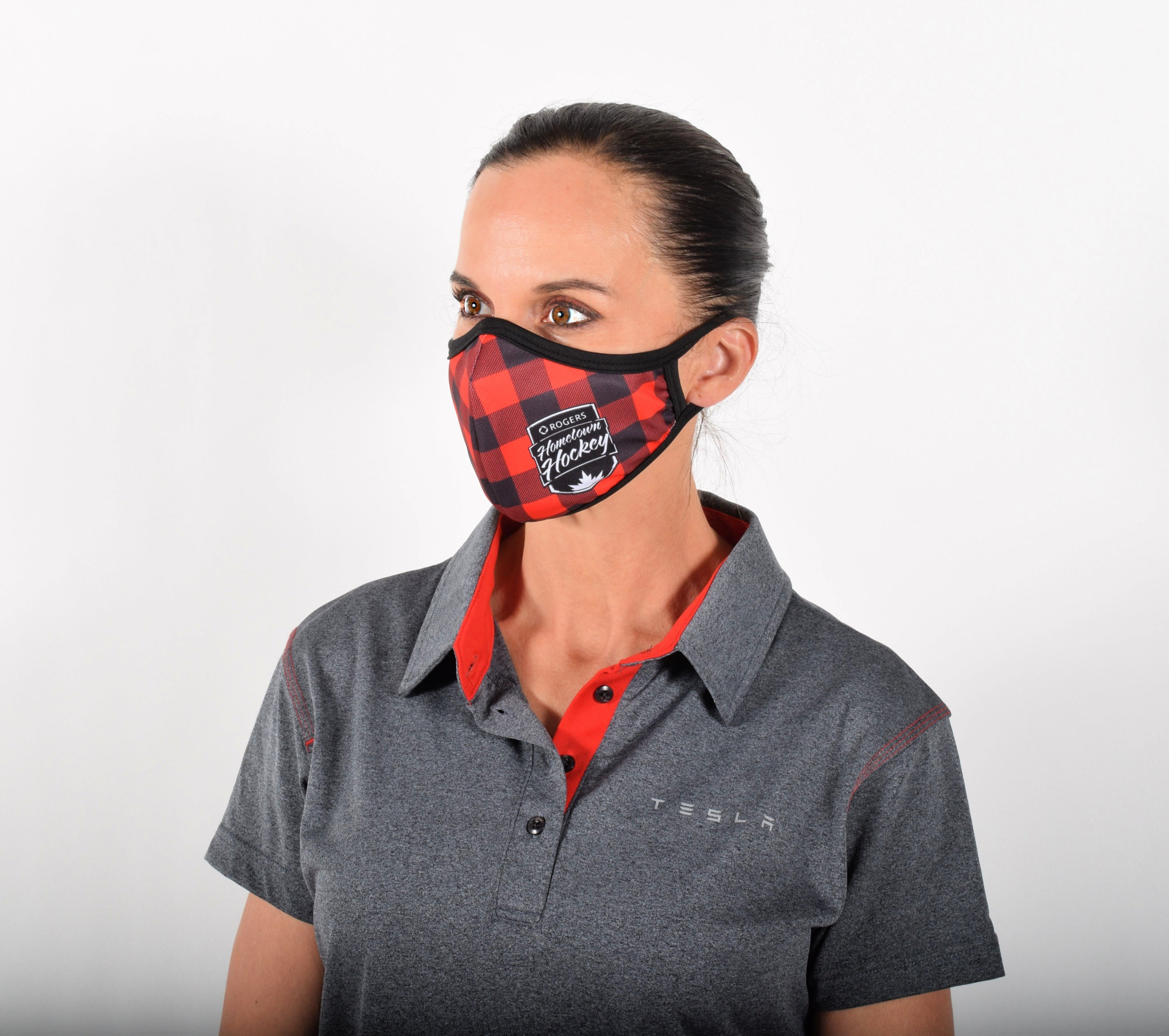 Women's Face Mask For Essential Workers with Sleeve for Filter Of Your Choice Such as N95