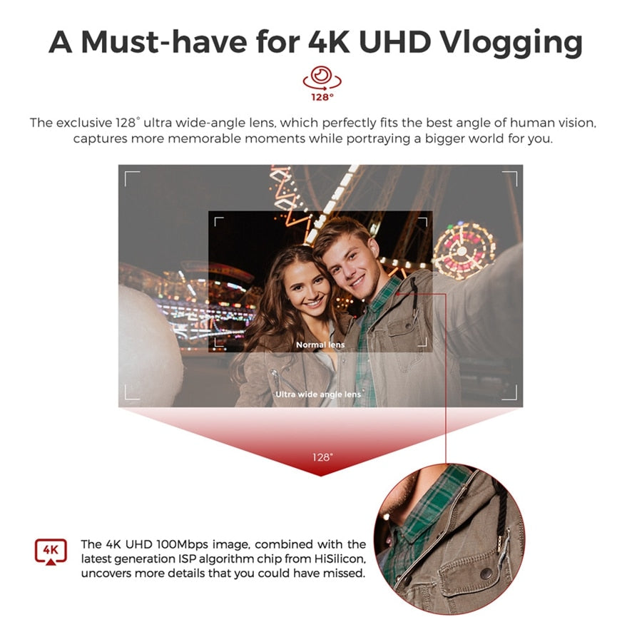 4K HD 3-Axis Handheld Gimbal Stabilizer - Shop Mongo