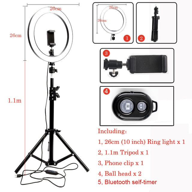 LED Ring Light Photo Studio - Shop Mongo
