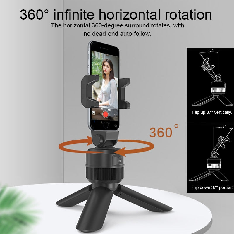 360 ° Smart Face Tracking Phone Holder - Shop Mongo