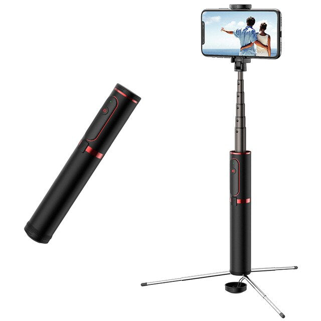 3 in 1 Selfie Stick with Bluetooth Remote - Shop Mongo