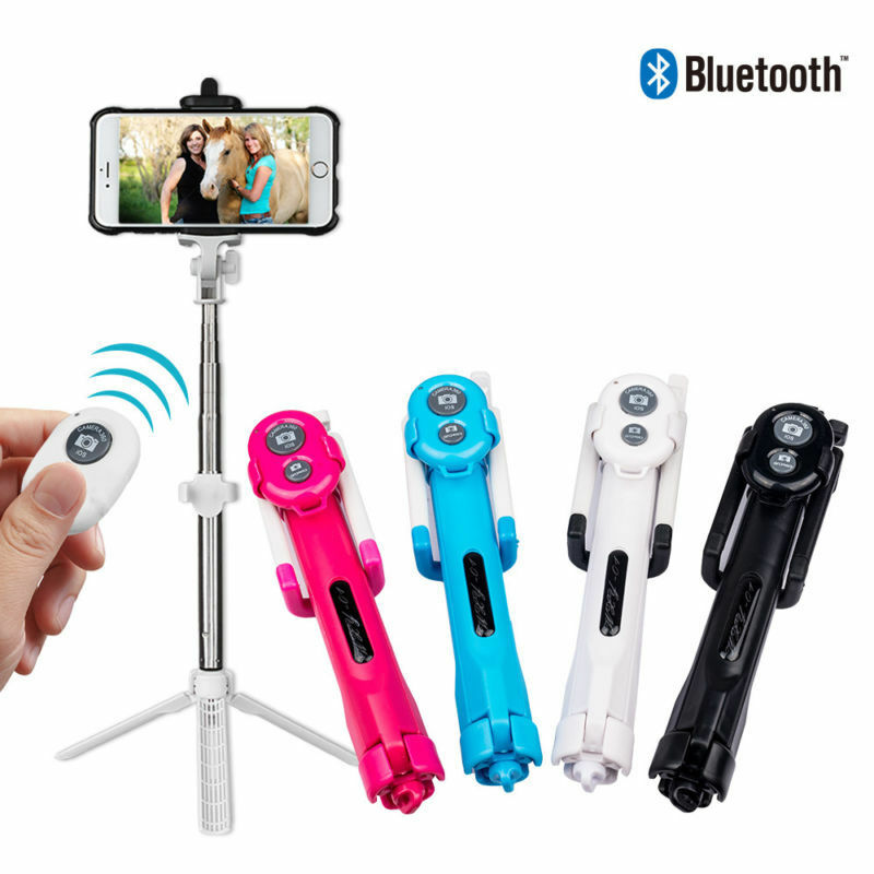 Extendable Selfie Stick Tripod Remote Bluetooth - Shop Mongo