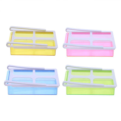 157 Fridge Space Saver Storage Sliding Drawer/Shelf (Fridge Storage Box)