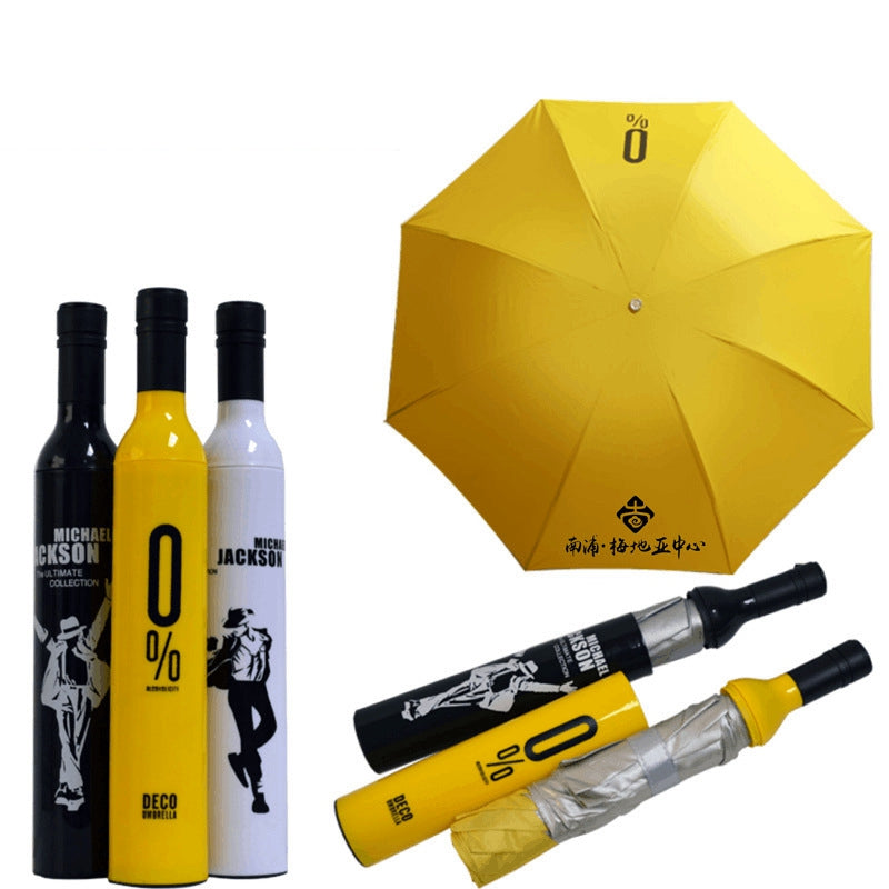 Portable W Bottle Umbrella