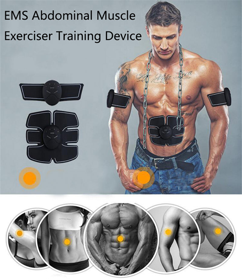ABS & Muscle Exerciser Training Device Body Massager