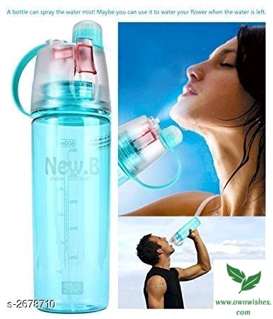 H04 Spray Water Bottle