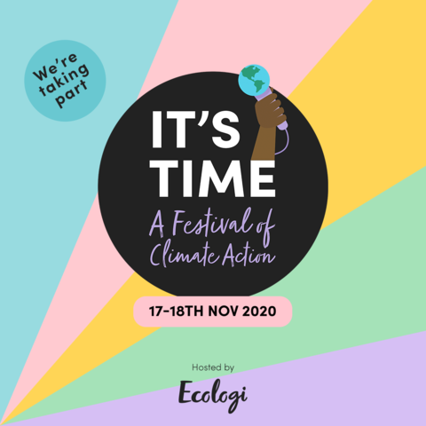 Clean Sailors supports It's Time Festival of Climate Action with Ecologi and WWF