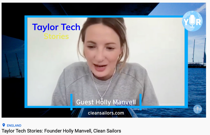 Holly, Clean Sailors lead, on Yachting International Radio