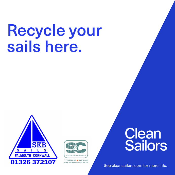 Clean Sailors launches Sail Recycling Network with South West partners