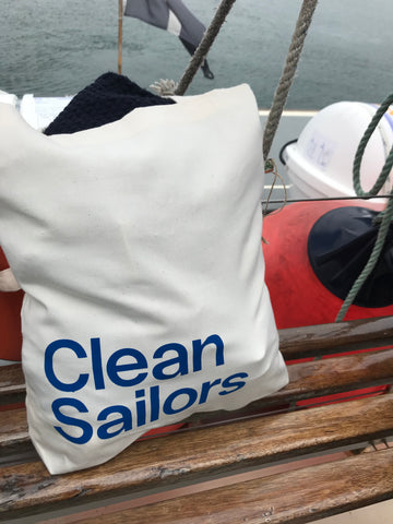 Clean Sailors reusable tote