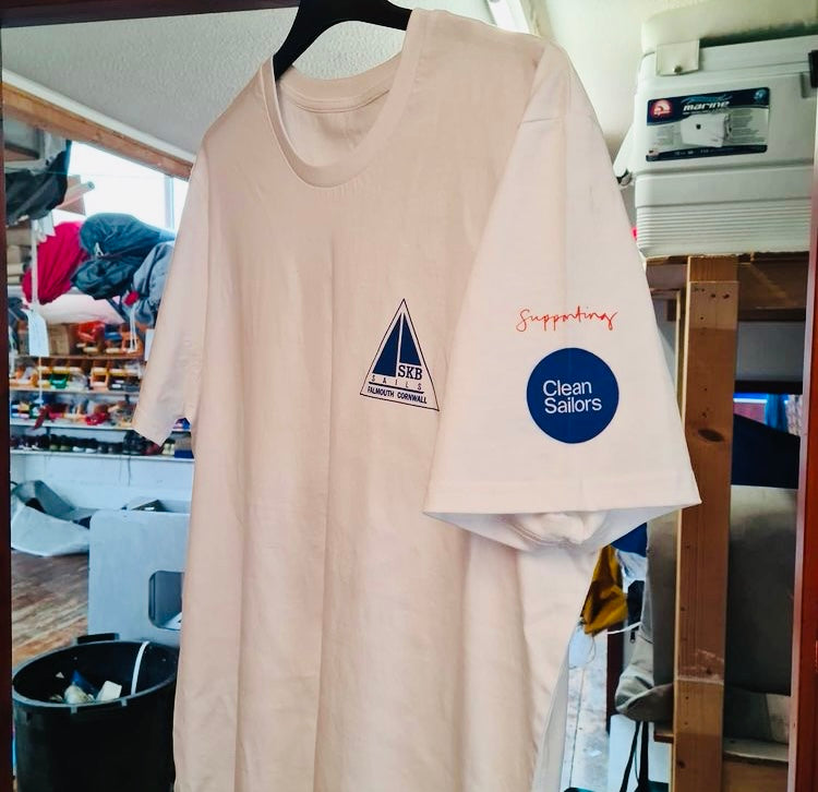 SKB Sails supports Clean Sailors with staff t-shirts