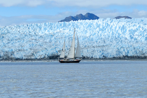 Sailors for Sustainability and glacier