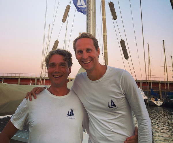 Ivar and Floris, Sailors for Sustainability