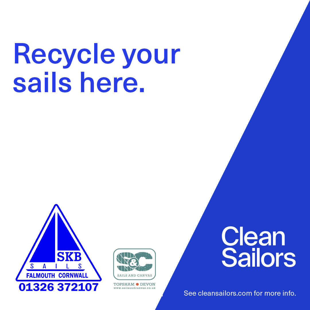 Clean Sailors sail recycling project