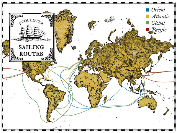 EcoClipper shipping routes