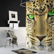 Load image into Gallery viewer, 🐆 Big Cat Shower Curtain - Kinky'z Collectionz