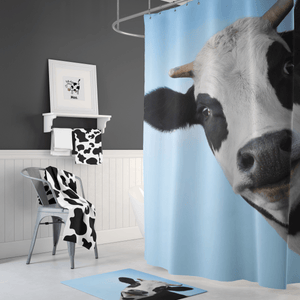 🐄 Cow Shower Curtain - Kinky'z Collectionz