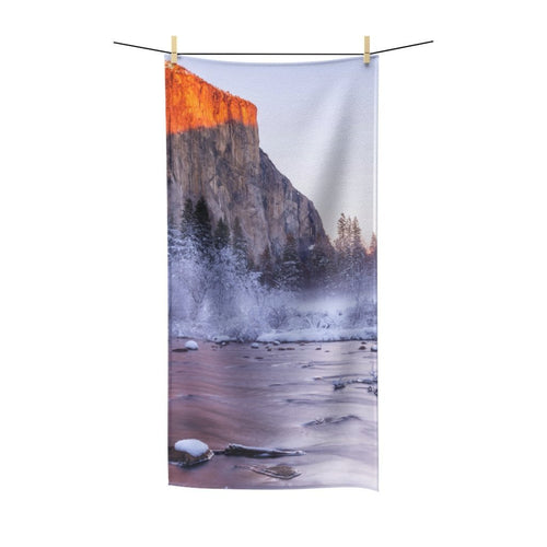 ⛰️ El Capitan Yosemite Poly Cotton Towel - Kinky'z Collectionz