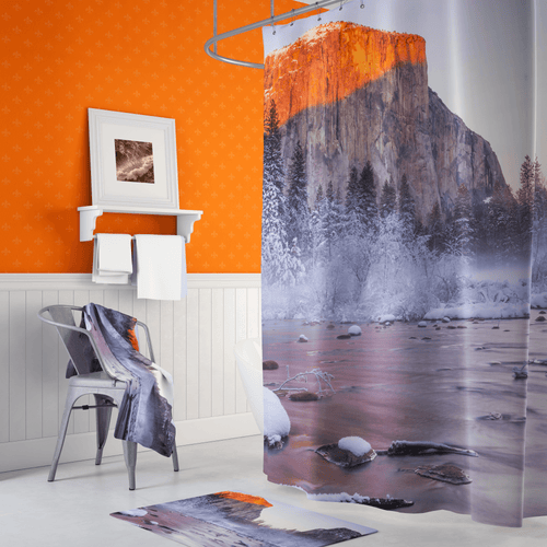 ⛰️ El Capitan Yosemite Shower Curtains - Kinky'z Collectionz