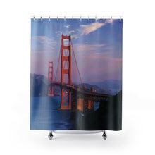 Load image into Gallery viewer, 🌁 Golden Gate Bridge Shower Curtain - Kinky'z Collectionz
