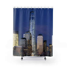 Load image into Gallery viewer, 🗽 New York City Skyline Shower Curtain - Kinky'z Collectionz