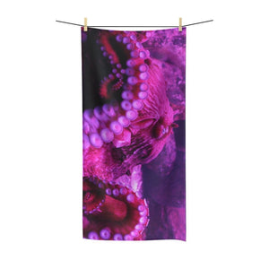 🐙 Octopus Poly Cotton Towel - Kinky'z Collectionz