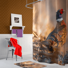 Load image into Gallery viewer, Pheasant Shower Curtain - Kinky'z Collectionz