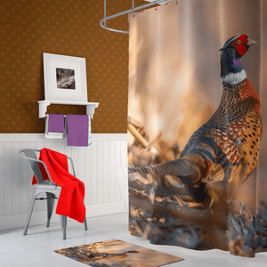 Pheasant Shower Curtain - Kinky'z Collectionz