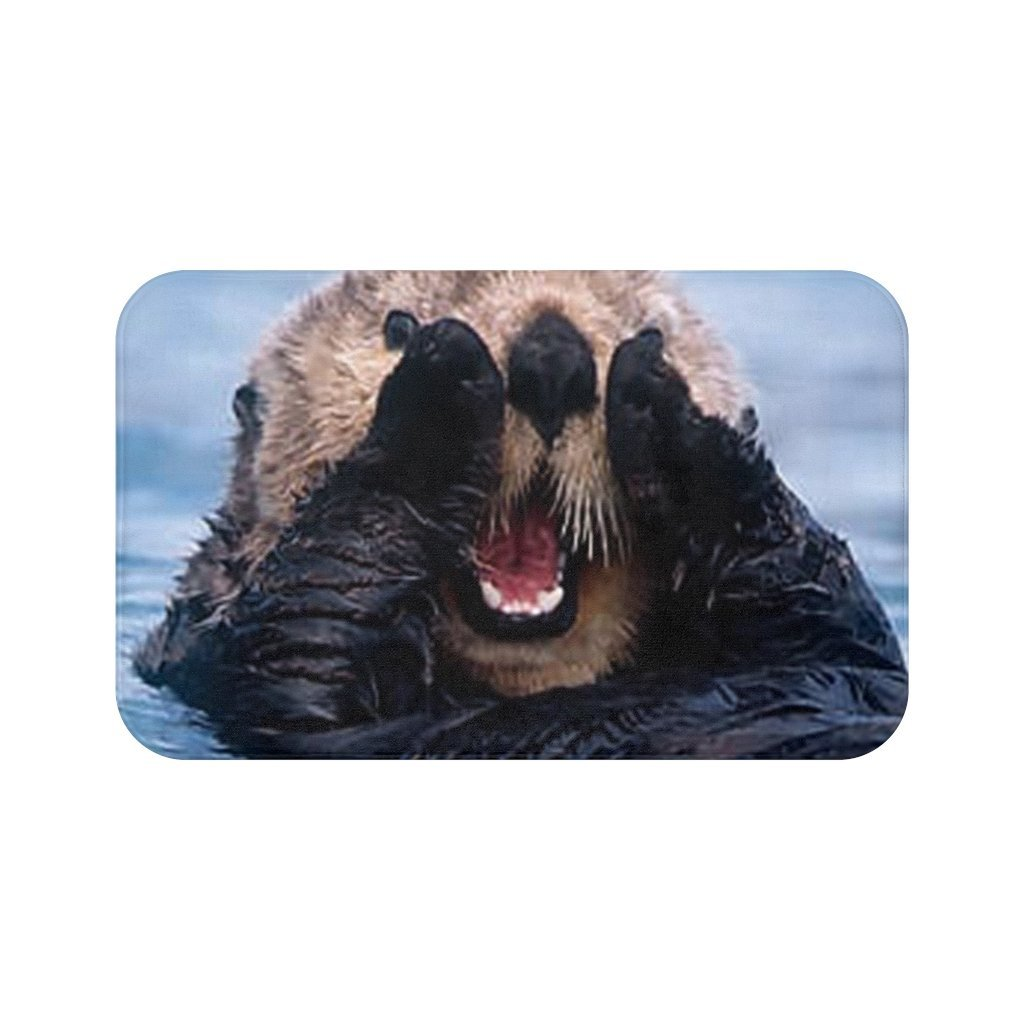 🦦 Sea Otter Bath Mat - Kinky'z Collectionz