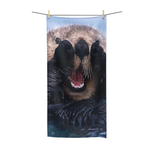 🦦 Sea Otter Poly Cotton Towel - Kinky'z Collectionz