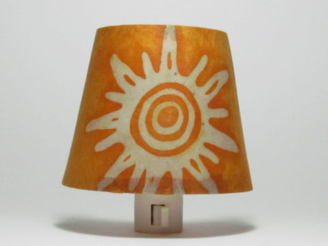 Orange Sun Night Light