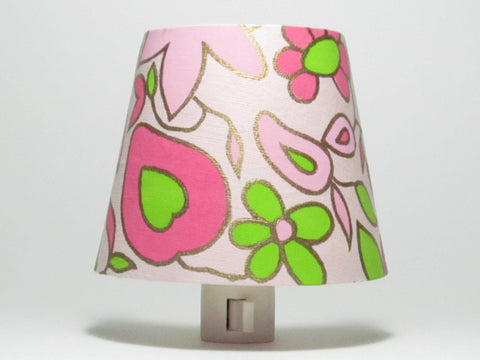 Pink Flower Night Light