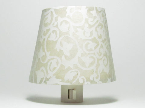 White Ivy Night Light