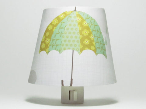 Green Umbrella Night Light