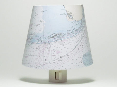 Florida Keys Nautical Chart Night Light