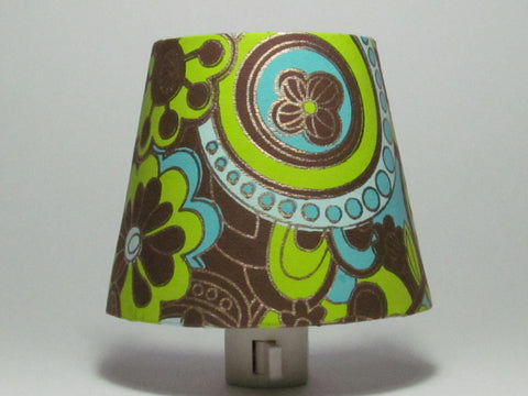 Retro Flowers Night Light