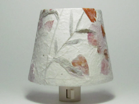 Orange and Pink Flower Night Light