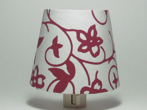 Red Flower Night Light