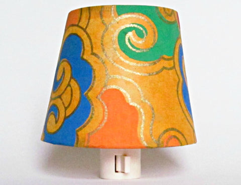 Orange Yellow Bohemian Decor Night Light