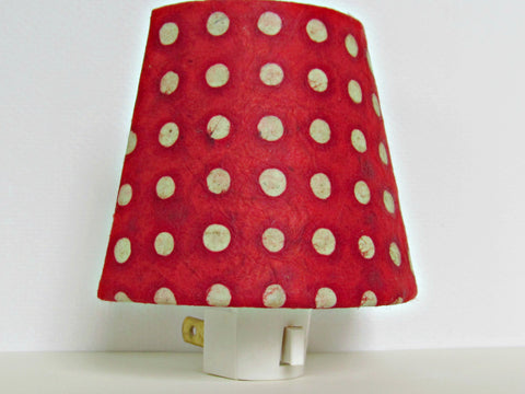 Red Polka Dot Night Light
