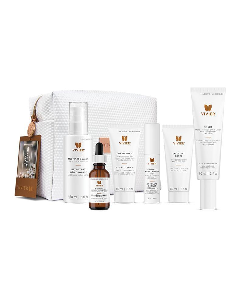 Vivier Hyperpigmentation Program (2% HQ)