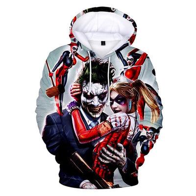 sweat joker couple harley quinn
