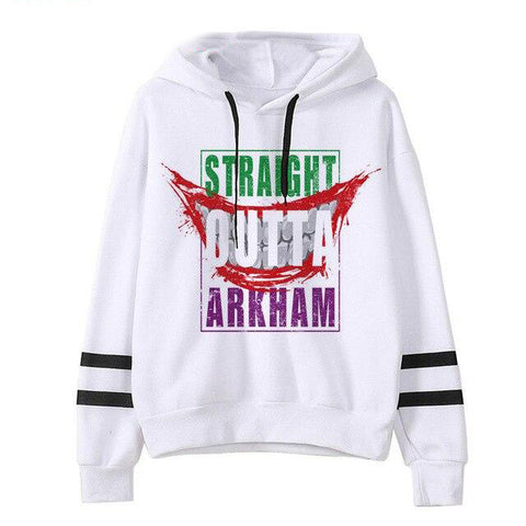 joker arkham sweat a capuche