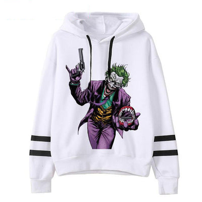 sweat à capuche joker revolver